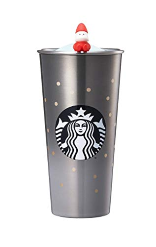 해외 한정 스타벅스 홀리데이 그레이 스테인레스 텀블러 스타벅스 Starbucks SS Holiday Gray To go Tumbler 473ml   (그레이)