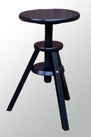 Drehhocker höhenverstellbar  IKEA Hocker Drehhocker Barhocker Stuhl höhenverstellbar 43-58 cm ...