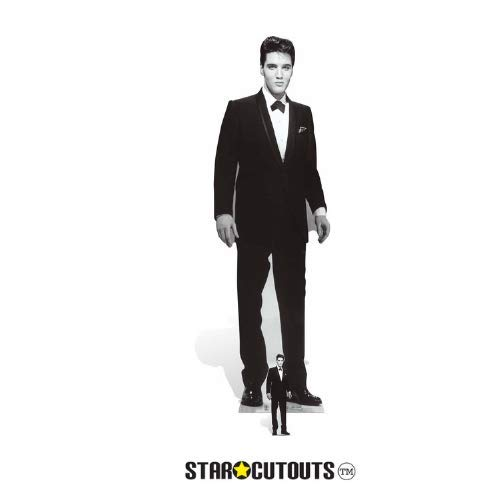 Stag's Leap Wine Cellars Star Cutouts SC576 Official Lifesize Cardboard Cut Out of Elvis Presley Tuxedo ()