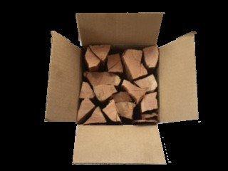 Smoak Firewood's Cooking Wood Logs - USDA Certified Kiln Dried (White Oak, 8-10 lbs)