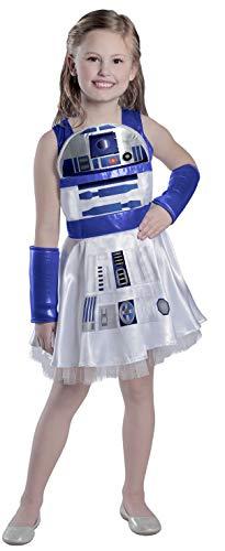 Princess Paradise Girls' Classic Star Wars R2d2 Dress, White, Large]()