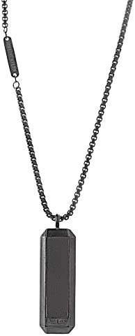 Ben Sherman Leather Necklace Stainless product image