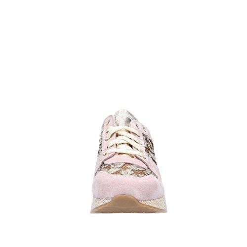 Shoe Camoscio Sport Sneakers Gattinoni Pegab6093wle Rosa Lacci Woman Donna Scarpe Paillettes E KBa4Ey