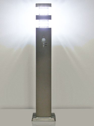 Baliza luminosa LED para exteriores con sensor de movimiento Jade Sens - 10420 - 3250 K - 60 cm: Amazon.es: Iluminación