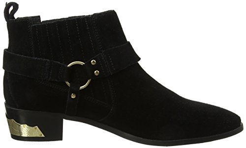 Office Ankle Atlas Boots Women's Black Suede Black Br4qBTxw