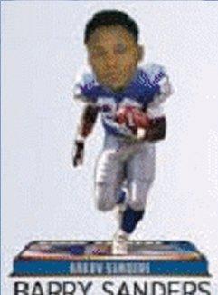 Detroit Lions Bobblehead - 8 Inch - Retired Player - Barry Sanders (Detroit Lions Figurine)