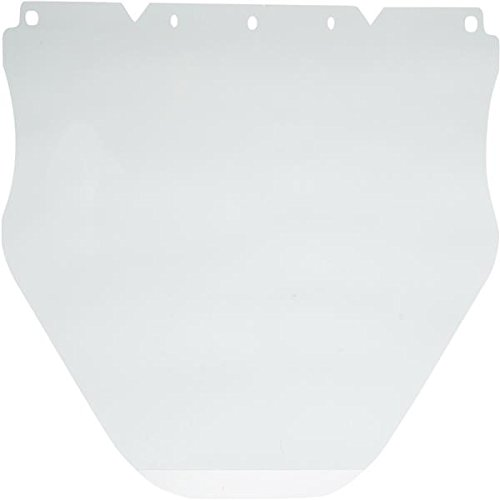 V-Gard Extended Polycarbonate Face Shield, Flat (0.040'') (20 Pack)