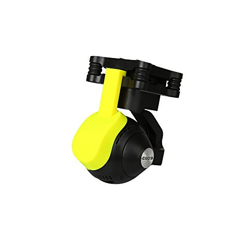 RCstyle Compatible with YUNEEC Q500 4K Camera Lens Cover Protector Cap Dust Cover Child 3D Printing Lens Cover