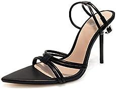 f8d3669452d Zara Women High Heel Strappy Sandals 1372 001 (37 EU