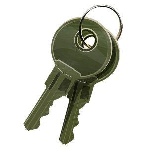 - APG Cash Drawer Keys (Part#: VPK-8K-542 ) - NEW