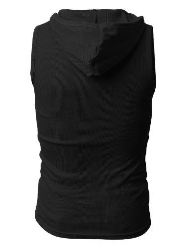 1aa278bd3beeb H2H Mens Active Slim Fit Tank Top Sleeveless Hoodie Lightweight Basic  Designed