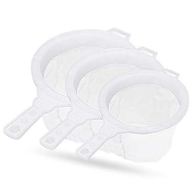 90 Degree Milk Stainer Garani Plastic Filter Mesh Nylon Milkcan Fitted (3 Pcs) for Dairy Imdustries 10