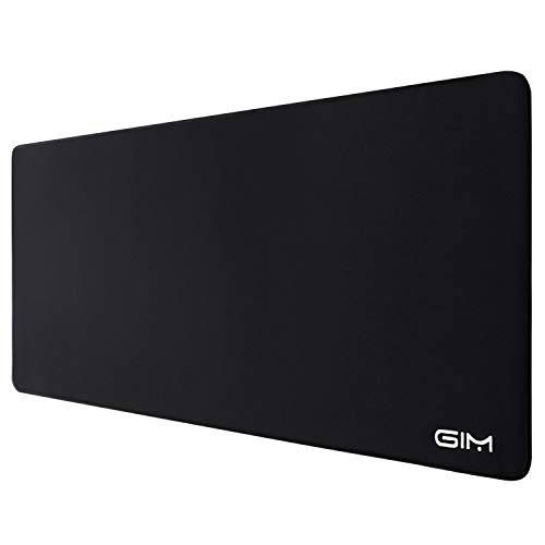 Large Mouse Pad with Stitched Edge, SAMIT Extended Gaming Mouse Pad XL Mousepad Premium-Textured Mouse Desk Pad Keyboard Pad Waterproof Non-Slip Rubber Base Long Mice Pads Mouse Mat for Laptop, PC