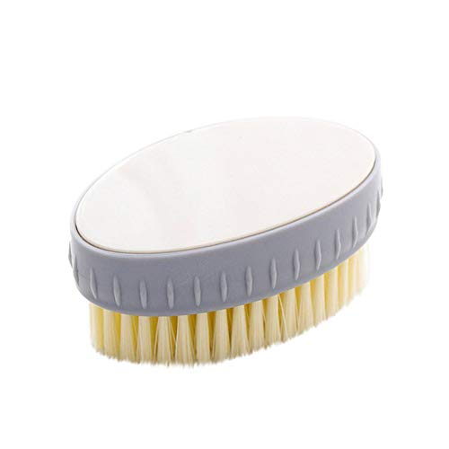 ️1 Pc Home Supplies Soft Wool Laundry Brush Shoes Household Plastic Cleaning Brush (Beige) from Caslia