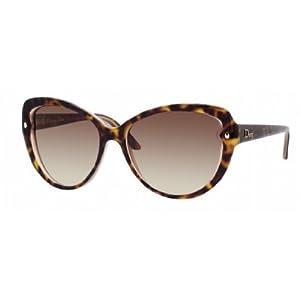 Dior xlt Havana Pondichery 1 Cats Eyes Sunglasses