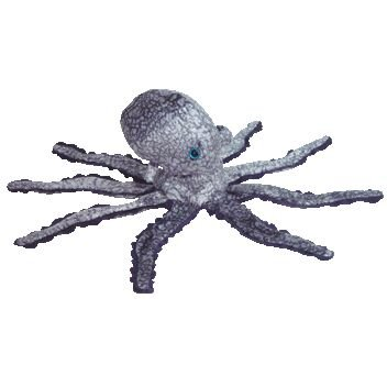 cb540b70a2e TY Beanie Baby - OPIE the Octopus (Retail version - Blue Eyes) (B000E5XY4K)