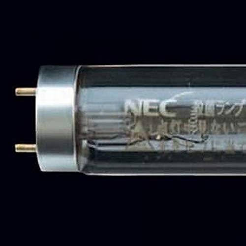 NEC 殺菌ランプ 殺菌灯用蛍光ランプ(蛍光灯) 直管スタータ形 15形 【10本入り】 GL15 B07NDTPNDS