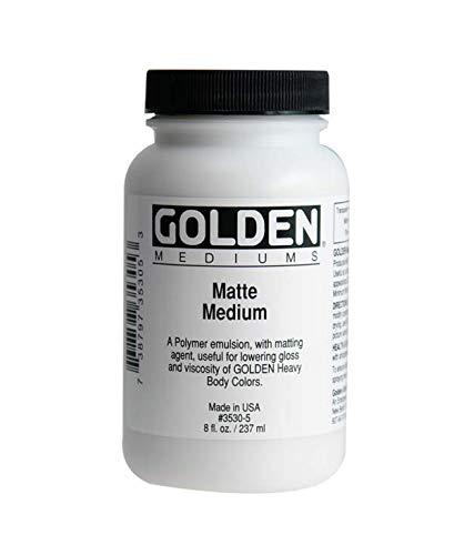 Golden 35305 Matte Medium-8 ounce by Golden