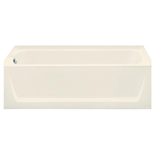 STERLING 71121110-96 Ensemble Bathtub, 60-Inch x 32-Inch x 18-Inch, Left-Hand, Biscuit