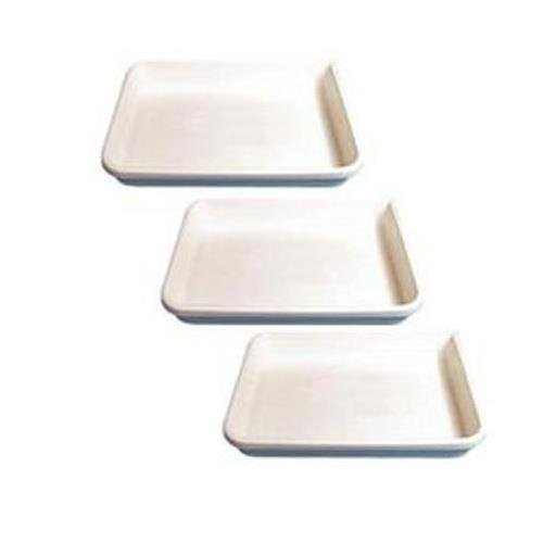 Cesco Plastic Print Developing Tray with Flat Bottom, 11''x14''x3'' Deep, Set of Three Trays.