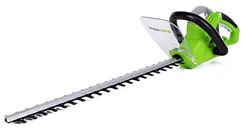 Greenworks 22-Inch 4-Amp Corded Hedge Trimmer 2200102 ()