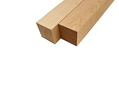 "Hard Maple Lumber Turning Blank Squares - 2.5"" x 2.5"" x 18"" (2 Pcs)"