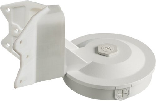 Arlington Industries 8161CB Weatherproof Box with corner bracket, White, 1-Pack