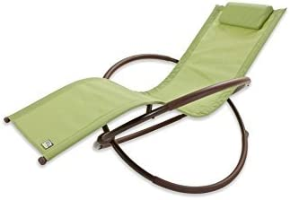 RST Brands OP-OL04-Grn Original Orbital Zero Gravity Patio Lounger
