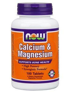 NOW Foods - Calcium and Magnesium High Potency - 100 Tablets