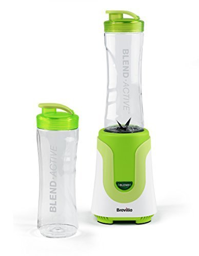 Breville VBL062 Blend Active Personal Blender, 300 W - White/Green by Breville