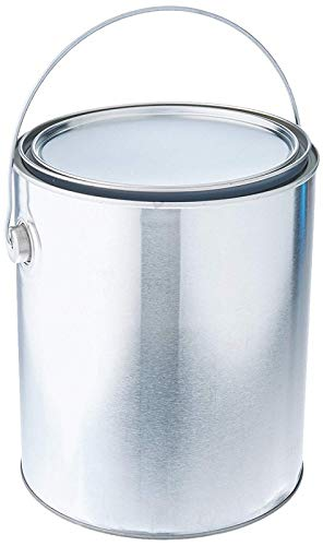 EMPGL Empty 1 Gallon Lined Paint Cans w Handles and Lids - Quantity 32 by True Value