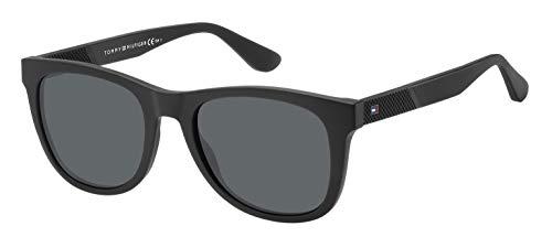 Tommy Hilfiger Men's TH1559S Square Sunglasses, Matte Black, 52 mm (Tommy Hilfiger Sunglasses For Men In India)