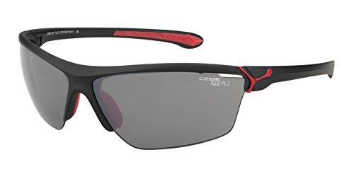 Color black red multicolor matt Cébé Sol Gafas Mate Cinetik Deportivas de Verde Hpq7Fqwx