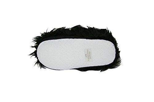 Bambino Bambino Ragazzo Ragazze Sherpa Peluche Animale Antiscivolo Pantofole Scarpette Da Interno (slt) (slt-6000) -bianco