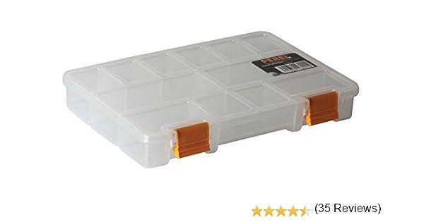 Perel OMRC9 Color blanco caja de herramientas Color blanco, 230 mm, 150 mm, 33 mm cajas de herramientas