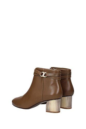 Brown Women Burch boots UK Tory Ankle 31356RIVERROCK qpYwPt4nn