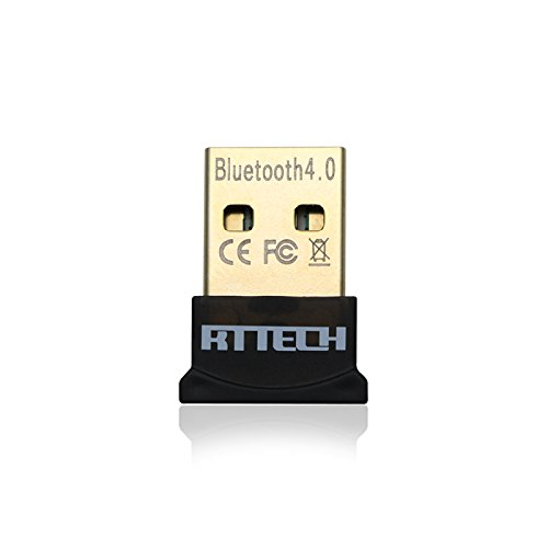 Bluetooth CSR 4.0 Mini USB Dongle Adapter For PC Laptop, Bluetooth Transmitter and Receiver Compatible with Window...