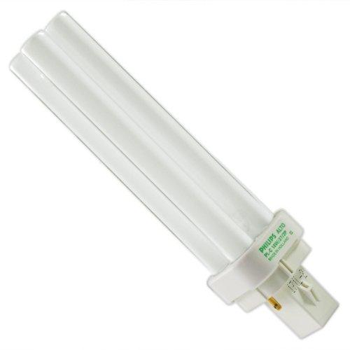 Philips Lighting PL-C 18W/827/2P/ALTO 10PK Cluster Compact Fluorescent Lamp, 18 W, CFL-NI Lamp, G24D-2 Lamp Base 10k Compact Fluorescent Lamp