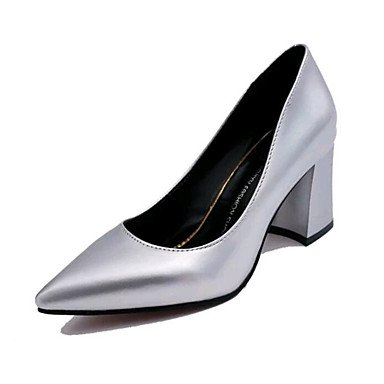 Dividido Mujer Exterior Verano UK4 CN36 Polipiel US6 Primavera Zapatos Zormey Zapatos Oficina Club Invierno Conjunto Talón Chunky Otoño Tacones amp;Amp; Carrera Formales Caminar EU36 Casual wqRxA547