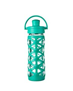 Lifefactory 16oz Active Cap AQUATIC GREEN