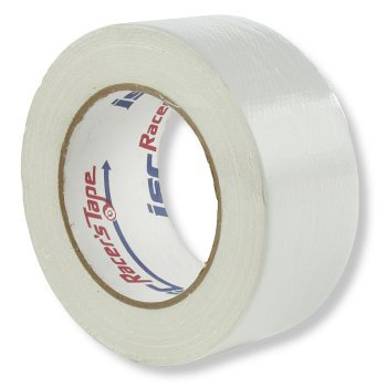 ISC RT2006 Standard-Duty Racer's Tape Roll, 90' Length x 2 Width, White by ISC Racers Tape