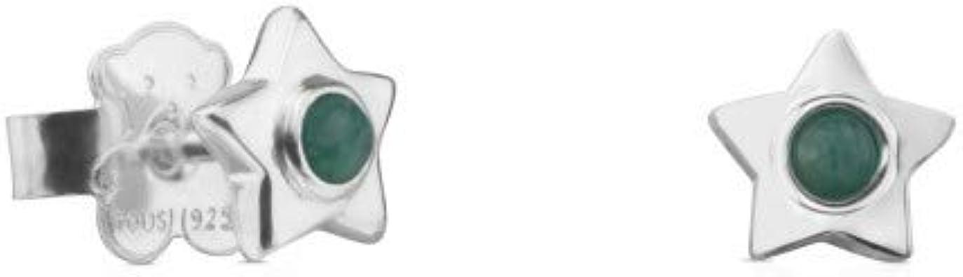 Tous - Pendientes de Plata con amazonita 81-240-379-0