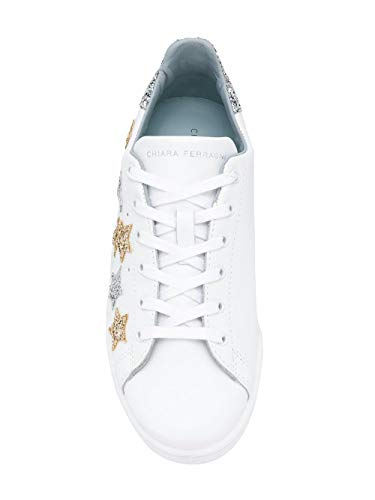 Donna Ferragni Pelle Cf2071 Chiara Bianco Sneakers vxaqwnUH