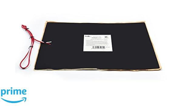 Facon 30cm x 45.8 cm RV Camper remolque Depósito de agua calentador Pad de Control con termostato automático 12 V DC (Pack de 2): Amazon.es: Coche y moto