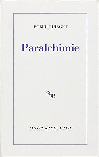 Télécharger en ligne Paralchimie pdf
