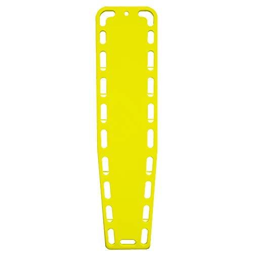 ASATechmed Base Board Patient Transfer Spine Board, EMT Backboard, Stretcher Immobilization (Yellow)