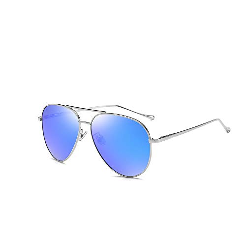 Wayland aviator Polarized Sunglasses For Men And Women ,100% UV Protection (Blue) (Kinder Aviator Sonnenbrille Billig)