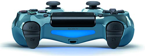 318PhVRqDhL - DualShock 4 Wireless Controller for PlayStation 4 - Blue Camouflage
