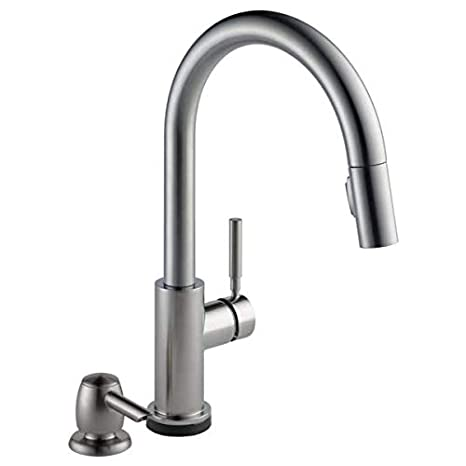 delta trask 19933t-spsd-dst touch kitchen faucet by DELTA FAUCET