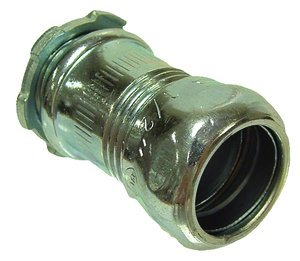 1/2'' Steel EMT - Uninsulated Compression Connector